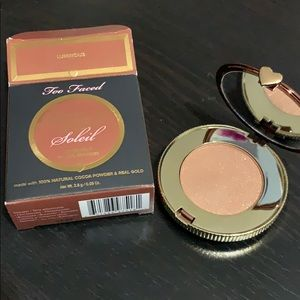 Too Faced Chocolate Gold Soleil Bronzer Mini Size